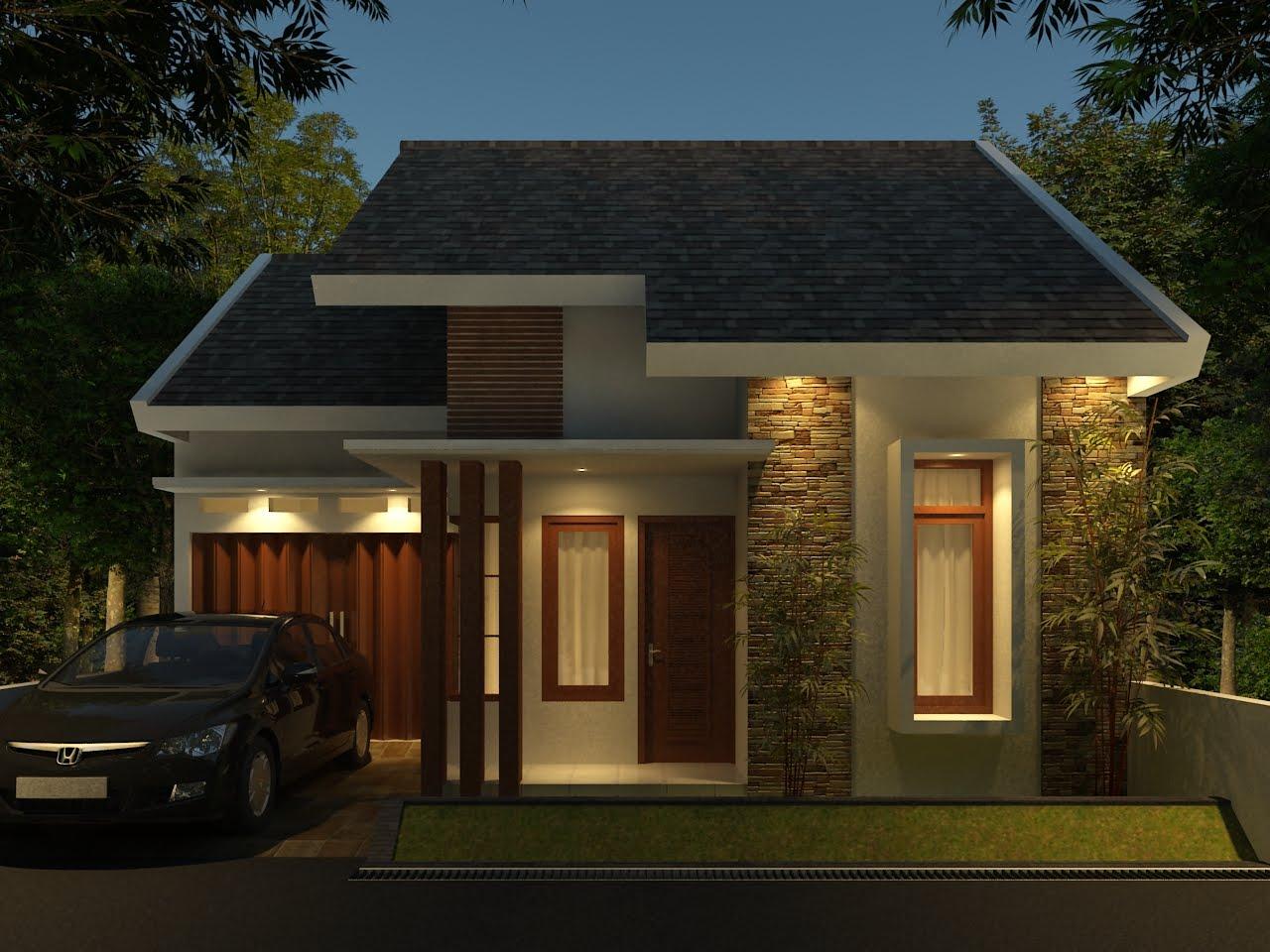 Arsitektur Rumah Minimalis Modern 1 Lantai