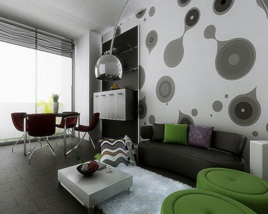 Dekorasi Dinding Ruang Tamu Minimalis