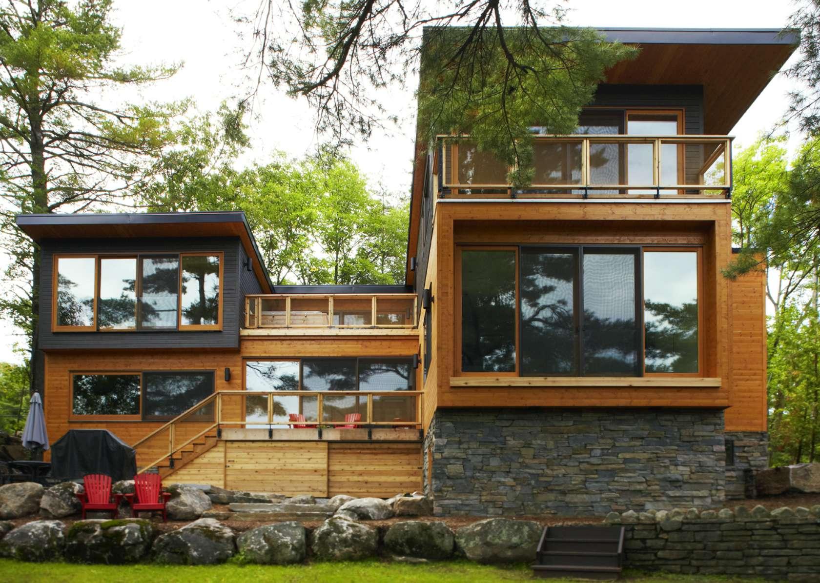 Desain Rumah Bambu Minimalis