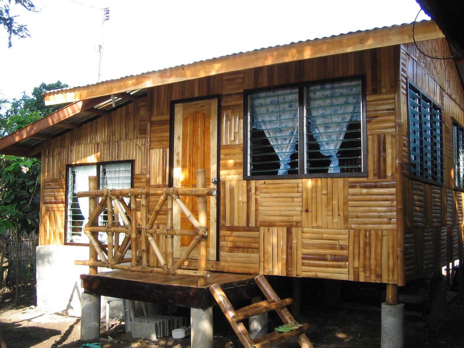 Desain Rumah Bambu Sederhana