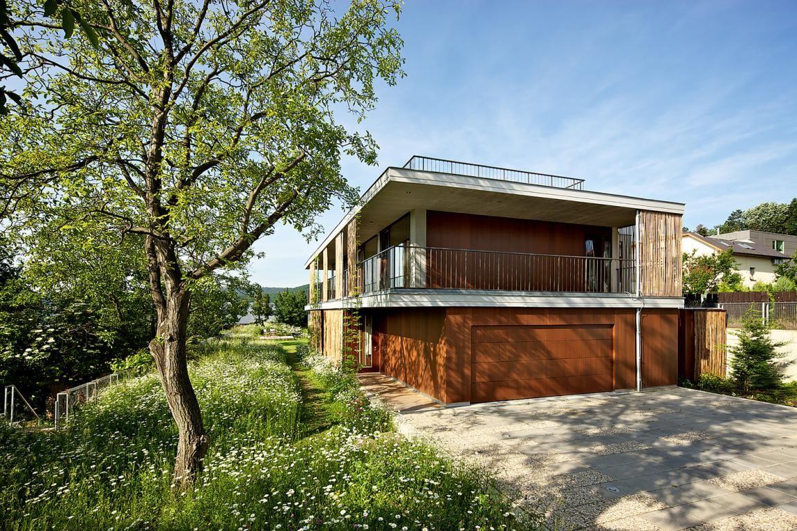 Desain Rumah Bambu Tingkat