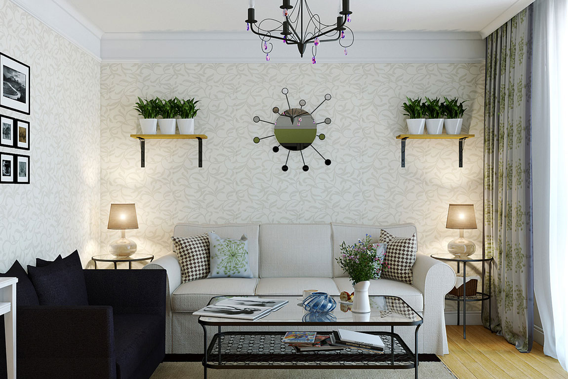 Hiasan Dinding Ruang Tamu Kecil