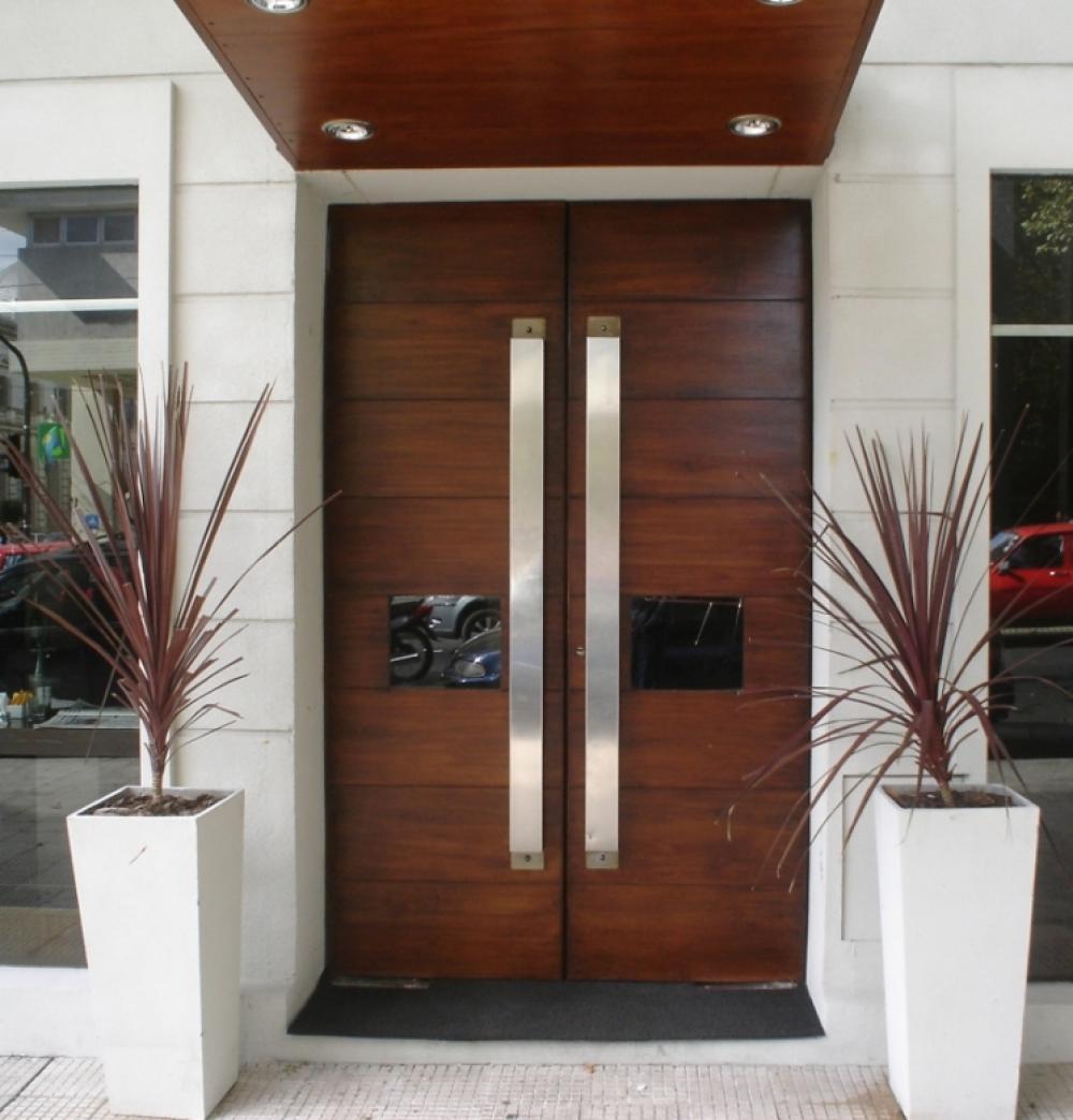 Pintu Rumah Minimalis 2 Pintu Besar Kecil