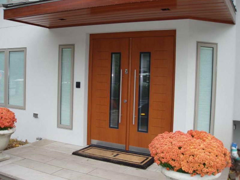 Pintu Rumah Minimalis Buka 2