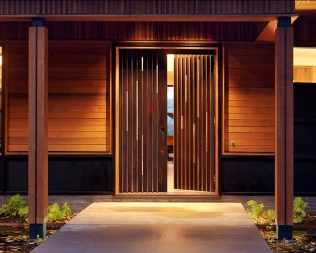 Pintu Utama Rumah Minimalis Modern