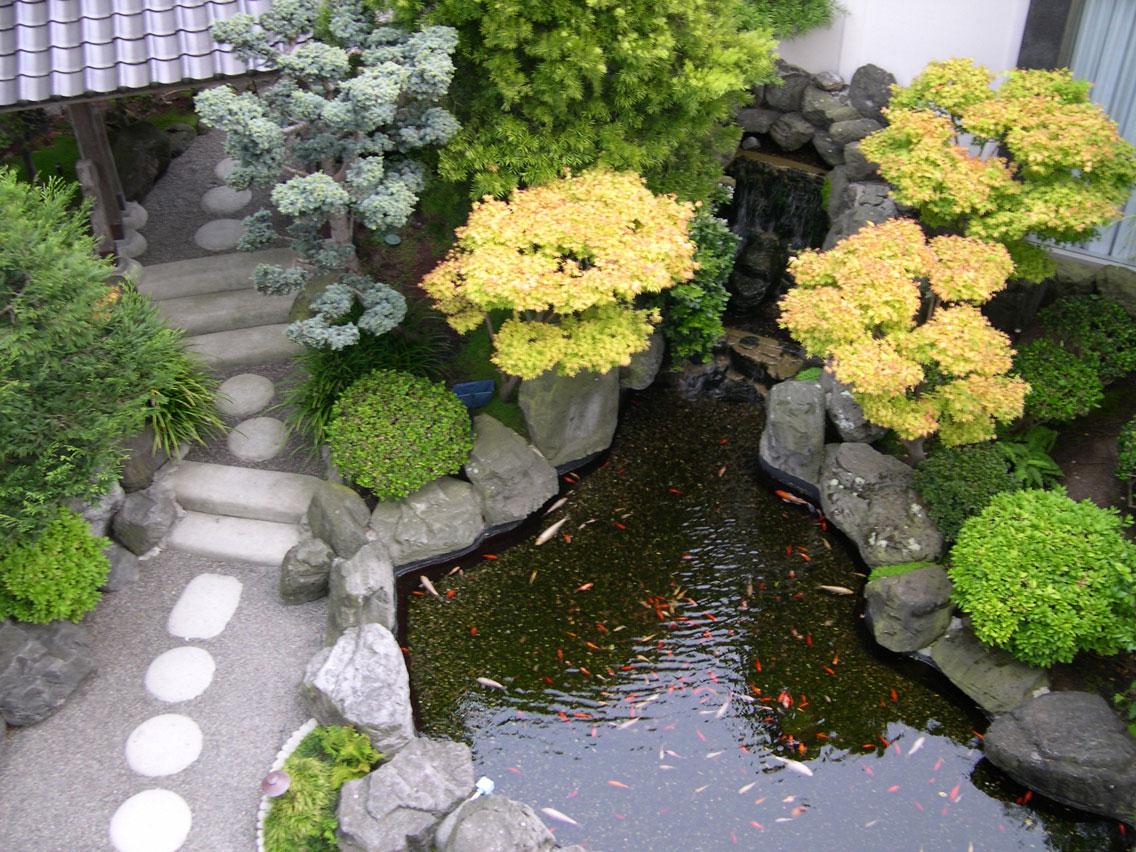 Taman Rumah Minimalis Jepang