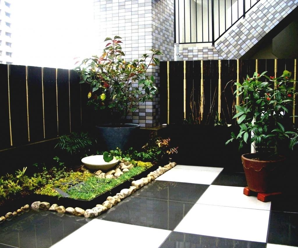 Taman Rumah Minimalis Lahan Sempit