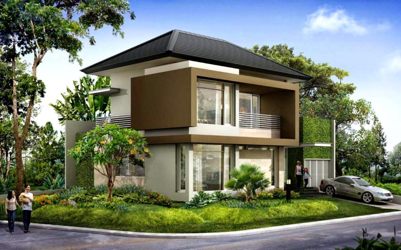 Desain Atap Rumah Minimalis 2 Lantai