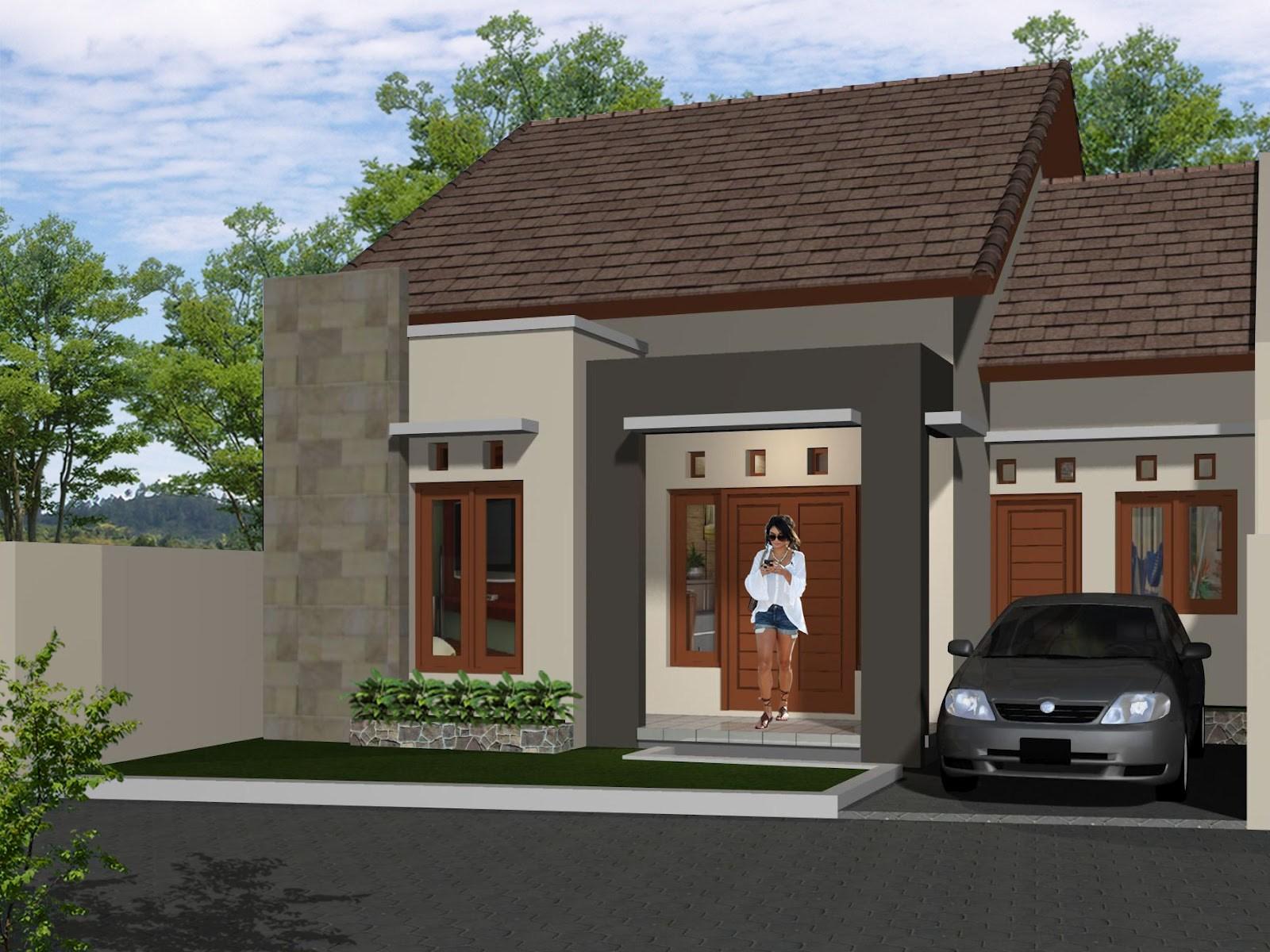 Desain Atap Rumah Minimalis Satu Lantai
