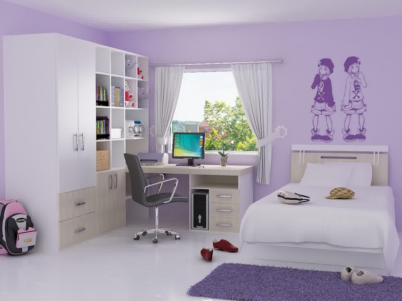 Desain Interior Kamar Tidur Anak