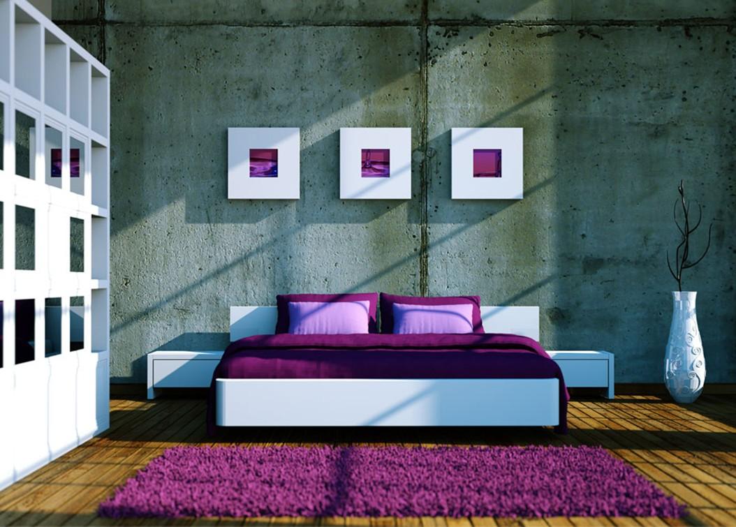 Desain Interior Kamar Tidur Modern