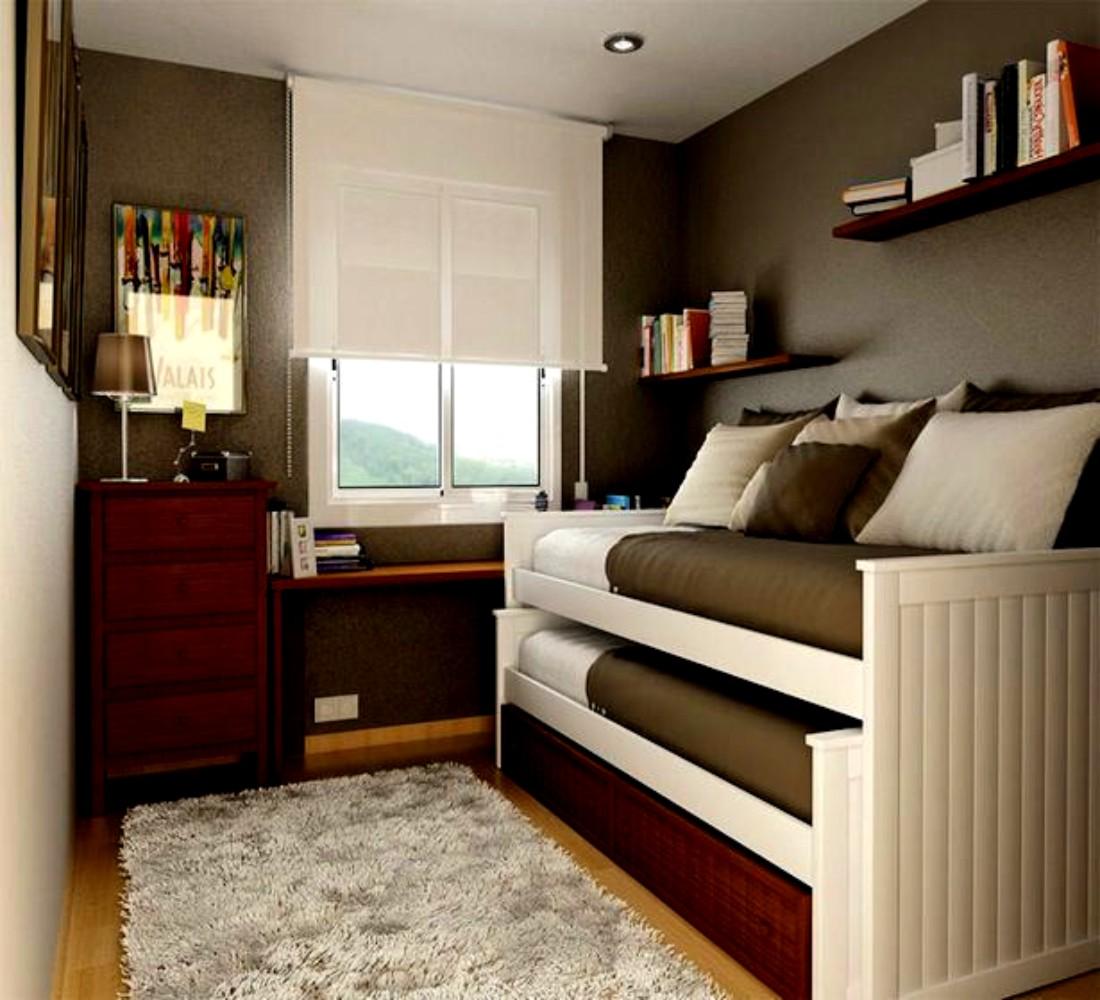 Desain Interior Kamar Tidur Ukuran 3x3