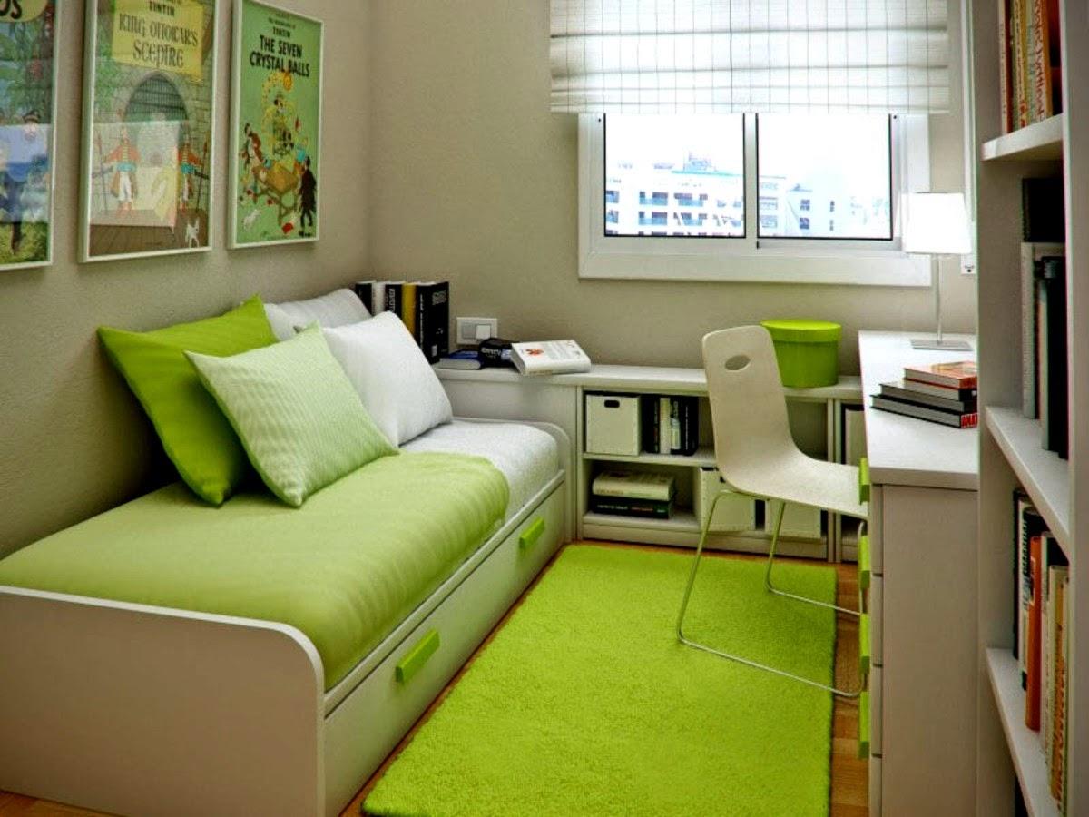 Kamar Tidur Sederhana Tapi Unik
