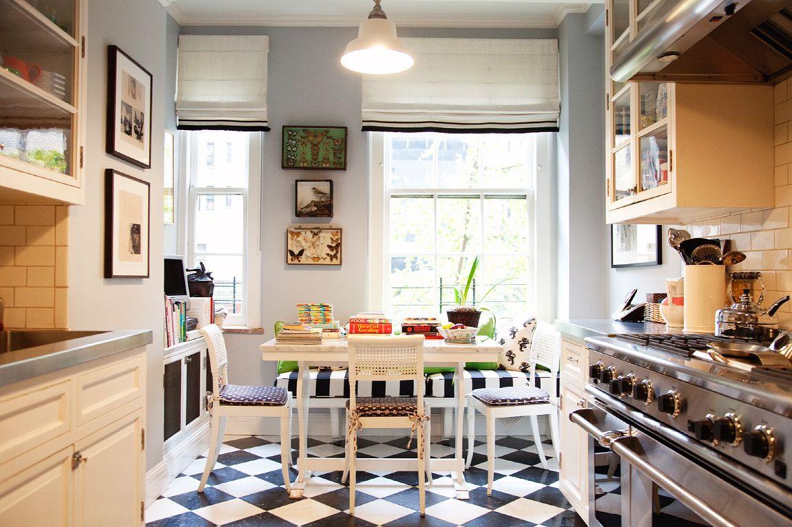 Keramik Lantai Dapur Hitam Putih