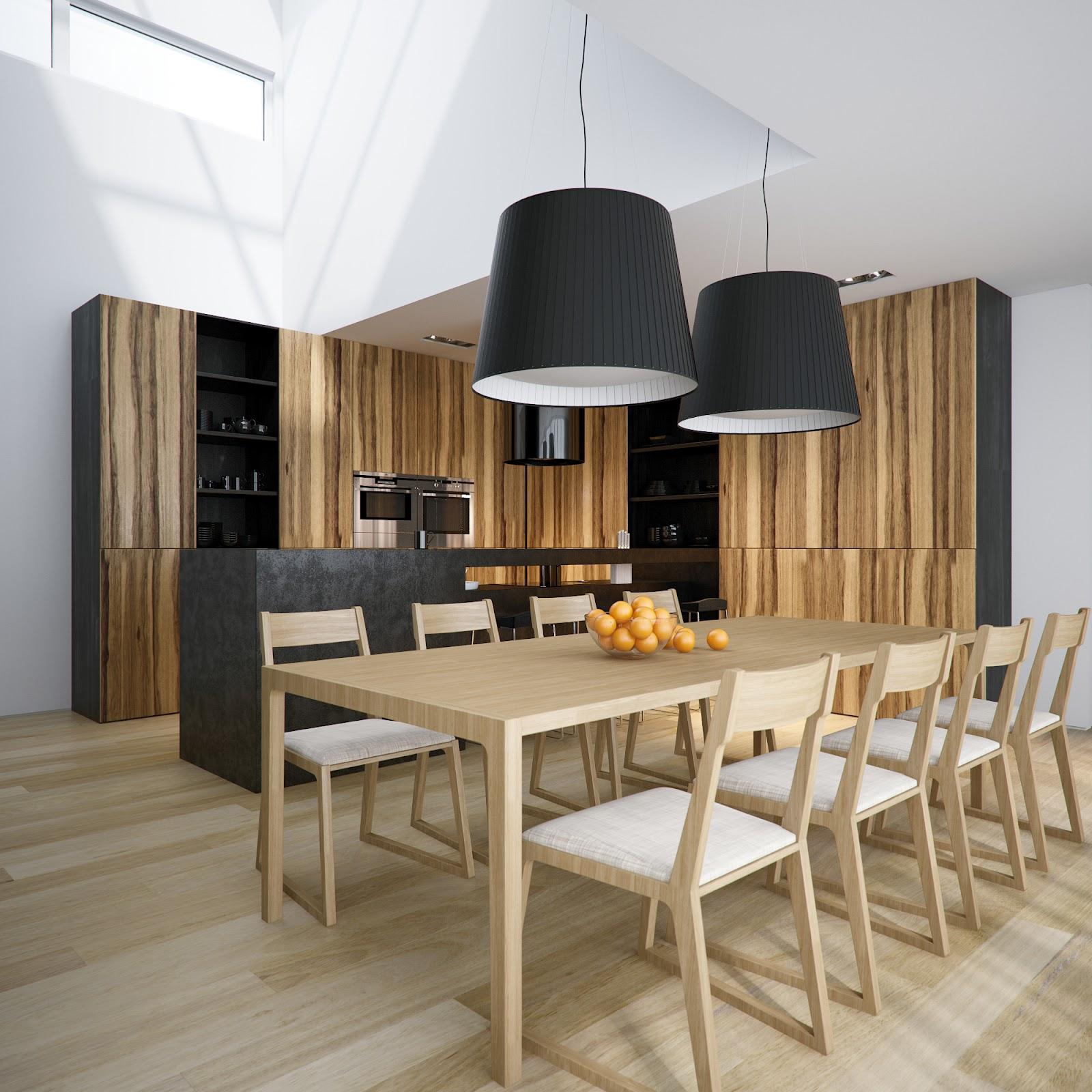 Lampu Ruang Makan Sederhana