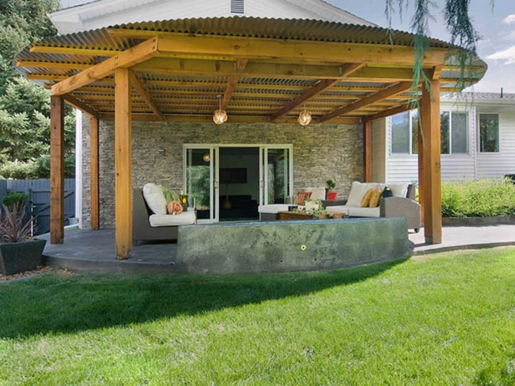 Model Teras Rumah Kayu