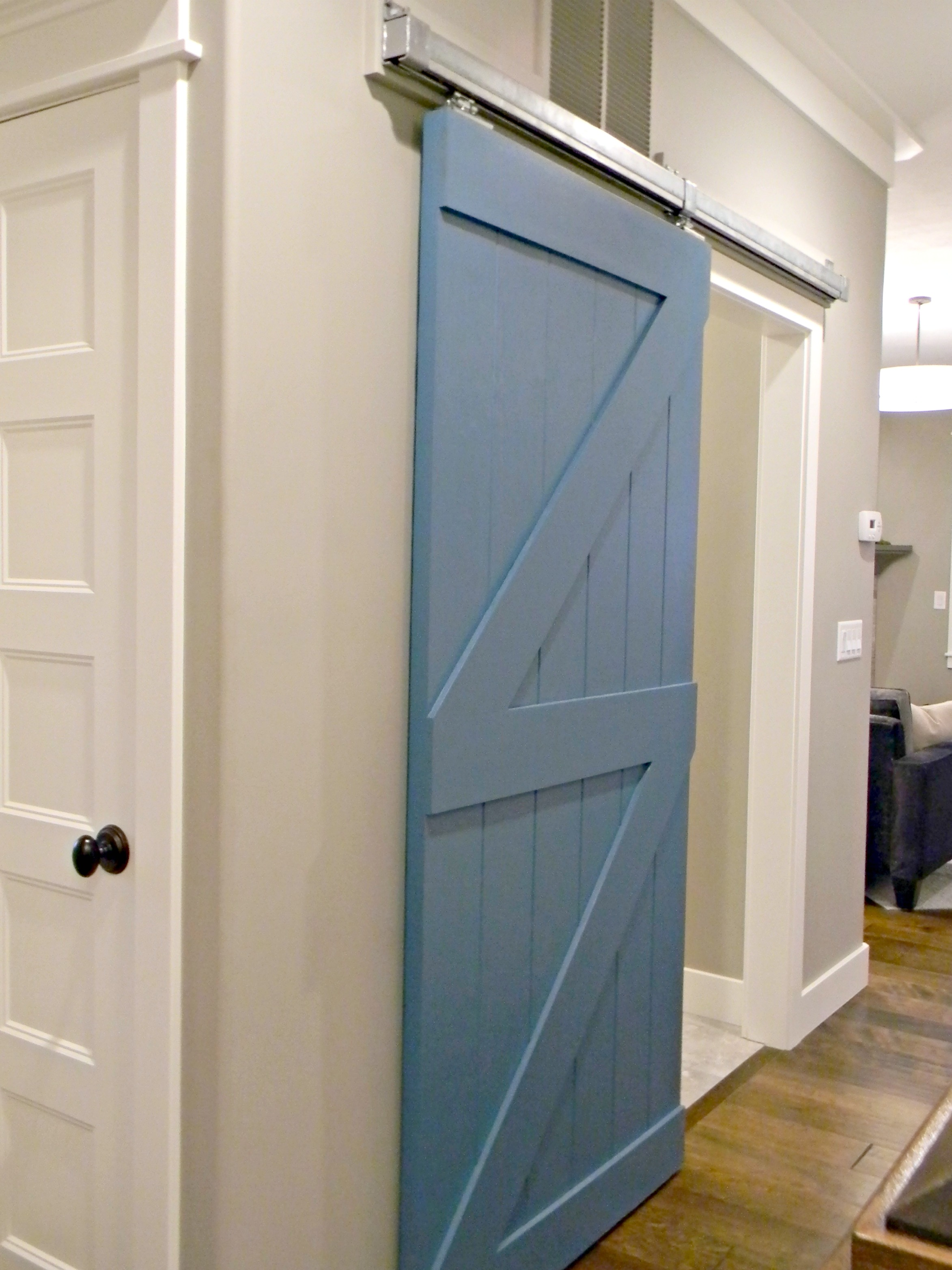 Pintu Kamar Mandi Kayu