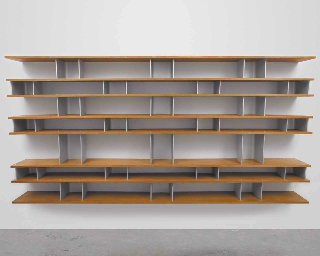 Rak Buku Minimalis Dinding