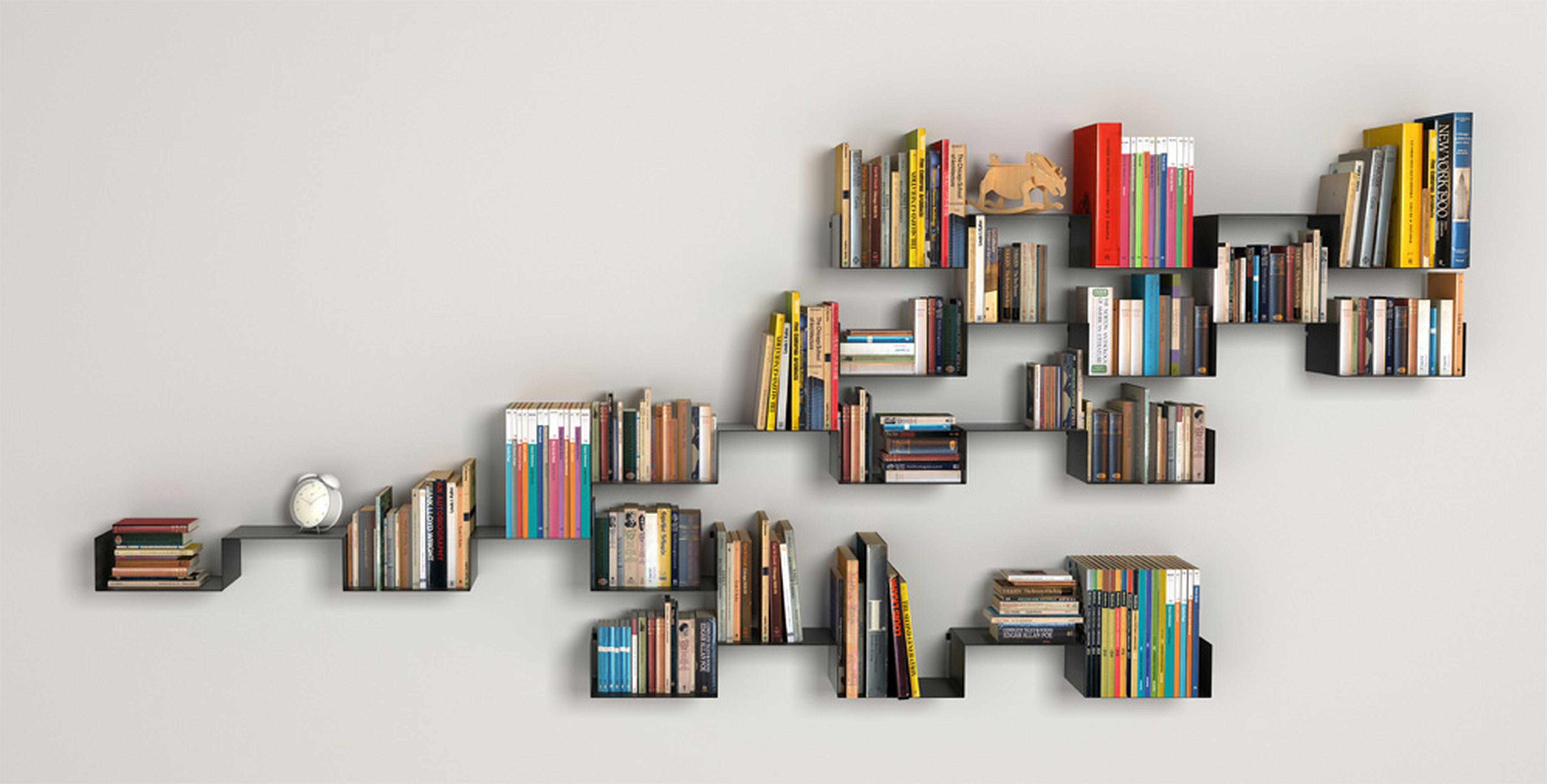 Rak Buku Minimalis Unik