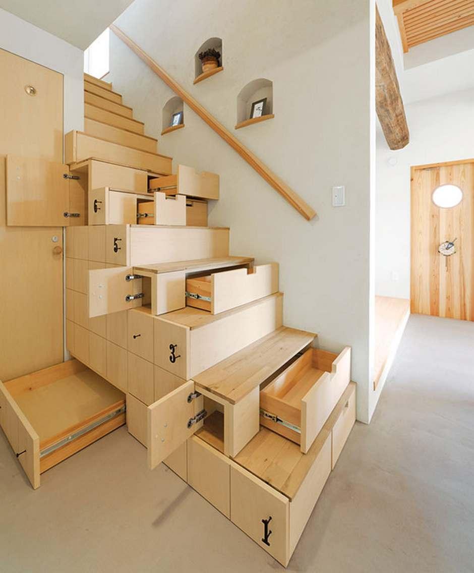 Tangga Rumah Minimalis Multifungsi